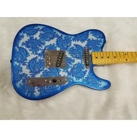 Custom Color Burst Paisley Custom Guitar